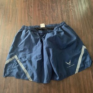 US Air Force mens athletic shorts size large